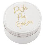 ROUND TRAVEL CASE DELTA PHI EPSILON (F19)