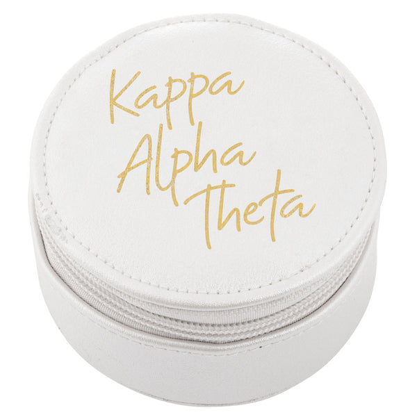 ROUND TRAVEL CASE KAPPA ALPHA THETA (F19)