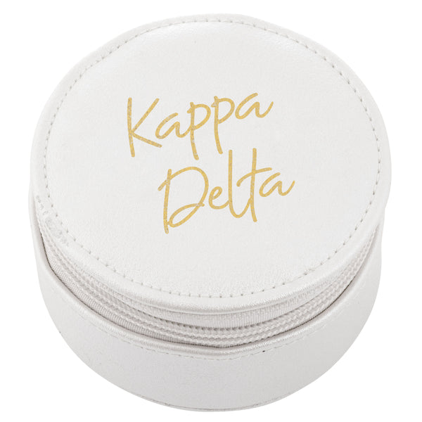 ROUND TRAVEL CASE KAPPA DELTA (F19)