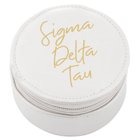 ROUND TRAVEL CASE SIGMA DELTA TAU (F19)