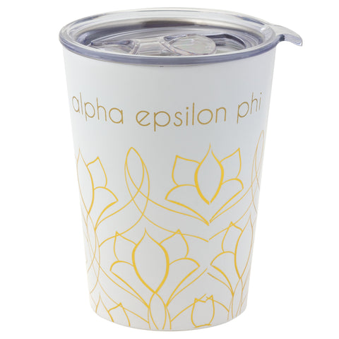 12 OZ TRAVEL MUG ALPHA EPSILON PHI (F19)