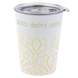 12 OZ TRAVEL MUG DELTA DELTA DELTA (F19)