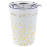 12 OZ TRAVEL MUG DELTA PHI EPSILON (F19)
