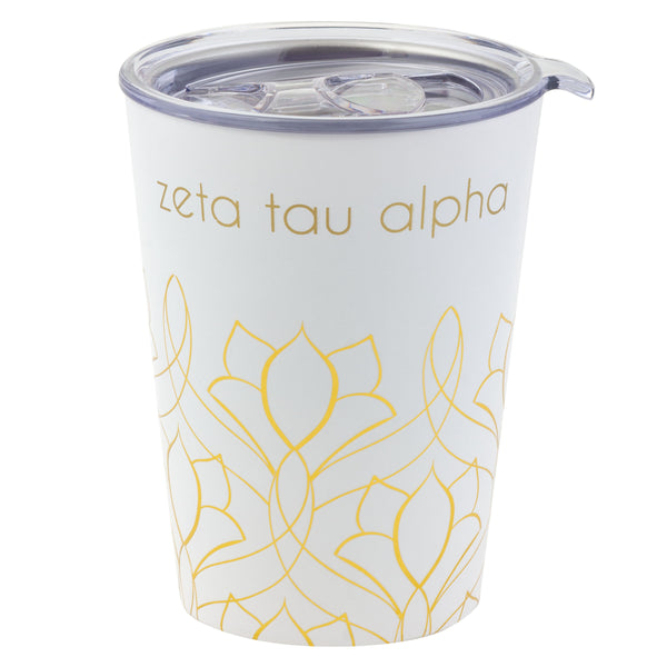 12 OZ TRAVEL MUG ZETA TAU ALPHA (F19)