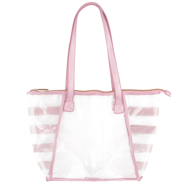Clear Tote Pink