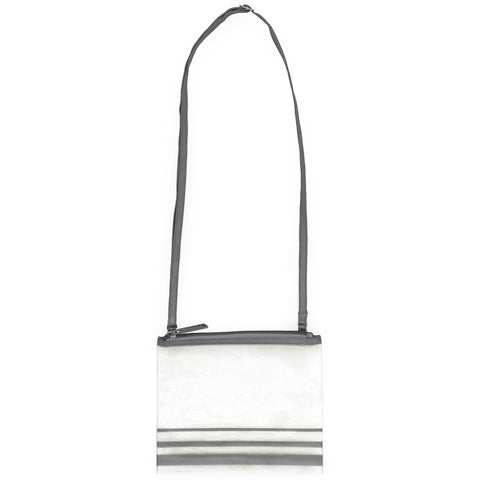 Clear Crossbody Charcoal
