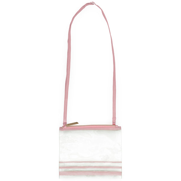 Clear Crossbody Pink
