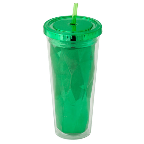 Metallic Tumbler Green