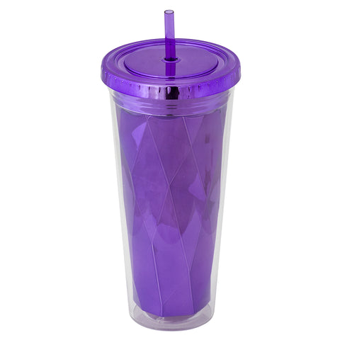 Metallic Tumbler Purple