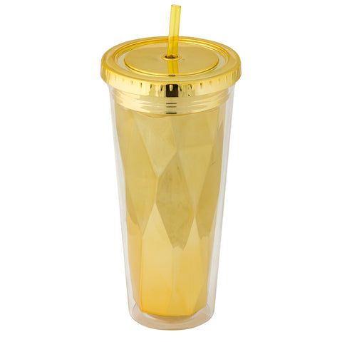 Metallic Tumbler Gold