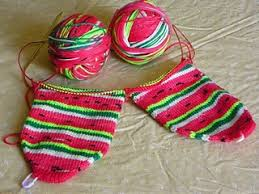 Two Socks Toe-Up with Magic Loop with Rosa