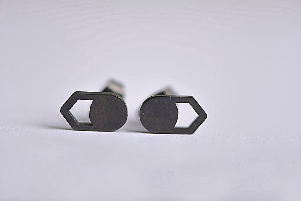 Round Arrow Point Stainless Steel Studs