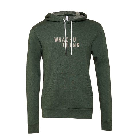 F*KN AROUND - WHATCHU THINK Hooded Sweatshirt