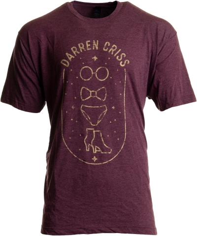 Darren Criss - Glasses Bowtie Brief Shoe T-shirt