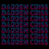 Darren Criss Repeating Name Black Art Preview