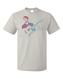 Standard Light Grey Darren Criss Guitar T-shirt