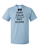 Standard Light Blue Darren Criss Keep Calm 'Cause You Are Not Alone T-shirt