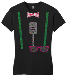 Girly Black Darren Criss Roxy Outfit T-shirt