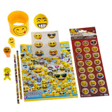 Emoji Birthday Party Supplies in our Big Birthday Bash Kit + 10 Extra Full Loot Favour Bags