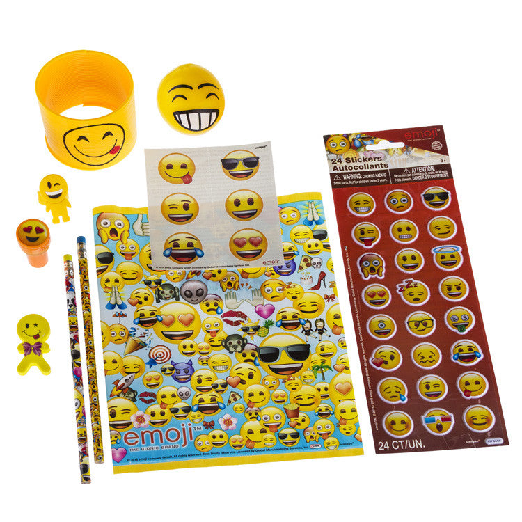 Emoji Gift Birthday Extra Full Loot Favour Goodie Bag Happy Kit