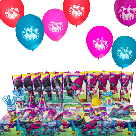Trolls Birthday Party Supplies Kit