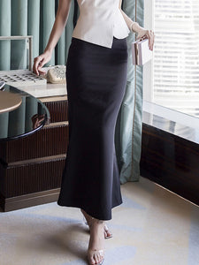 High Waist Wrap Skirt