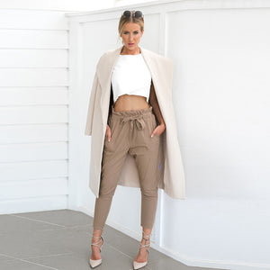 Stylish Pockets Long Pants