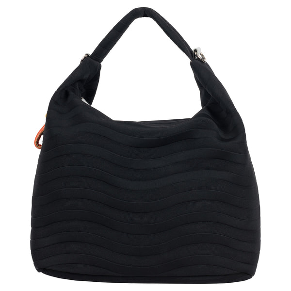 Wave Embossed Neoprene Hobo