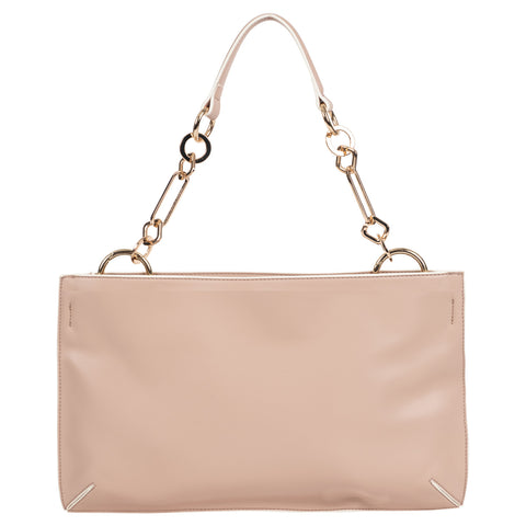 Smooth Nappa Vegan Leather Shoulder Bag
