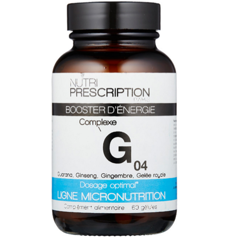 Nutri Prescription G04 - Booster D'Energie
