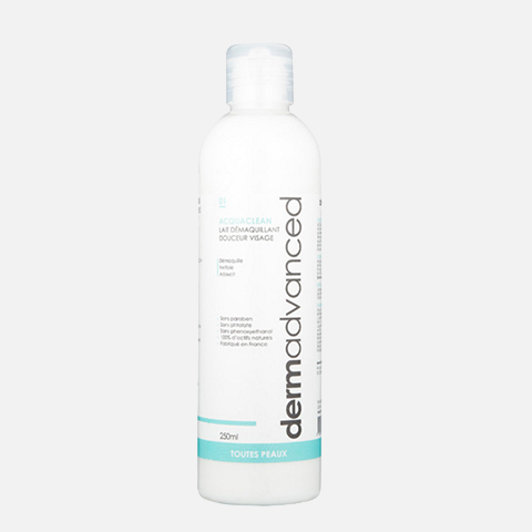 Dermadvanced - Acquaclean Lait Démaquillant Douceur 250Ml