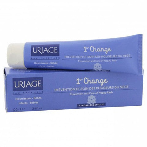 Uriage Bebe 1Er Change Pate, 100 Ml