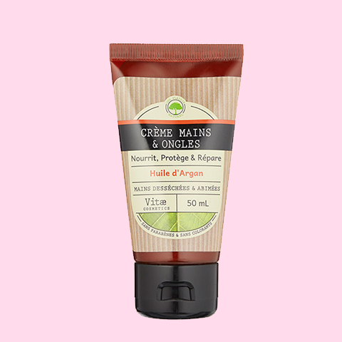 Vitae cosmetics - Creme Mains Huile D'Argan 50ml