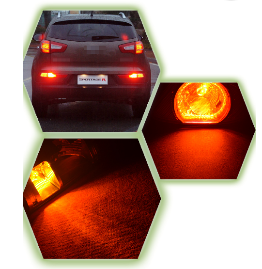 Car led lamp 156 1157 7440 7443 3156 3157 3030smd 10w white,red,amber - lightingway