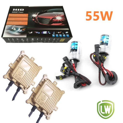 H4 Hi/Low Dual Beam -  Xenon HID Headlight Conversion Kit - LightingWay