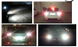 Car led light  16pcs 2835smd  s25 t25 t20 Red,white,Amber auto led bulb - lightingway