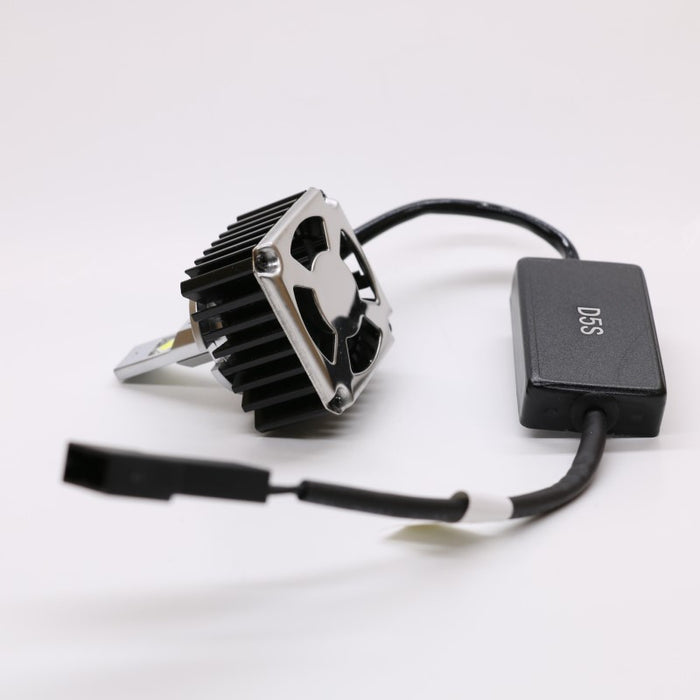 D5S LED Headlight Conversion Kit - 50W 6000K 8400LM - Plug and Play