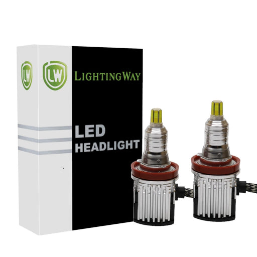 H9 LED Projector Headlight kit  with USA BridgeLux Chip - lightingway