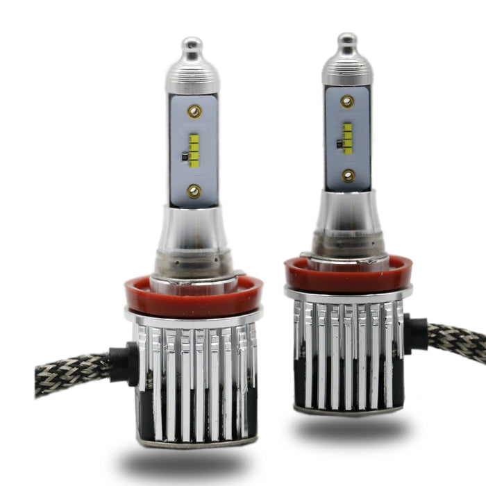 High Beam - H11 LED Headlight Kit - 6000K 8000LM With Philips  ZES Chips - lightingway