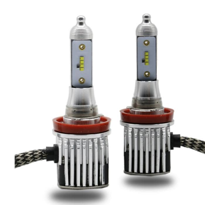 H16 LED Headlight Kit - 6000K 8000LM With Philips ZES Chips - LightingWay