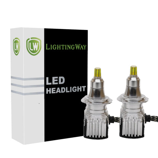H7 LED Projector Headlight kit  with USA BridgeLux Chip - LightingWay