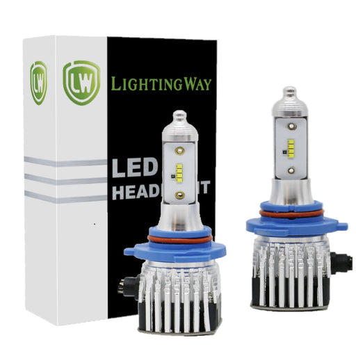 Low Beam - 9006 LED Headlight Kit - 6000K 8000LM - Brightest - LightingWay