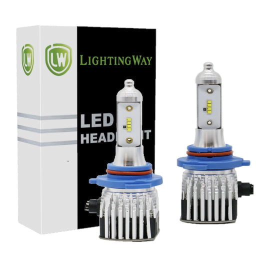 9005 LED Headlight Kit - 6000K 8000LM With Philips ZES Chips - lightingway