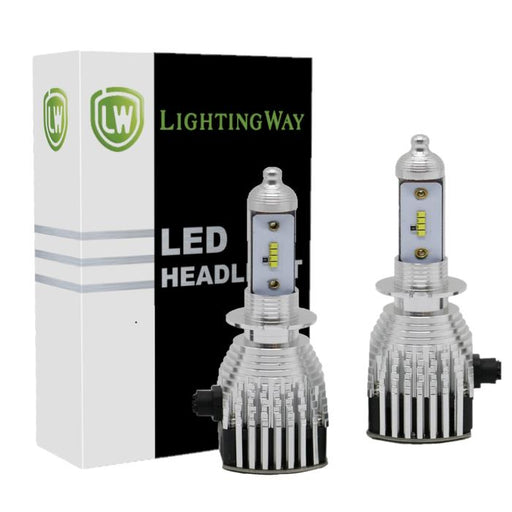 H3 LED Headlight Kit With Philips Chip - LightingWay