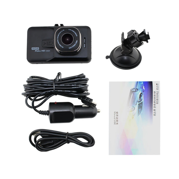 Professional Full HD 1080P 3inch 120 Degree Car Driving Recorder Camera Motion Detection Night Vision G Sensor Bracket