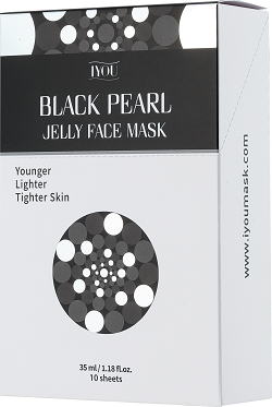 IYOU BLACK PEARL JELLY FACE MASK