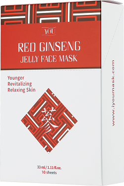 IYOU RED GINSENG JELLY FACE MASK