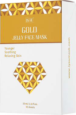 IYOU GOLD JELLY FACE MASK