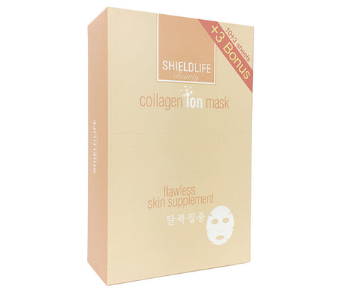 Shield Life Collagen Ion Mask (Plumping) - 10+3