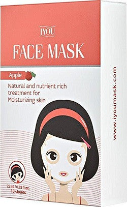 IYOU APPLE FACE MASK